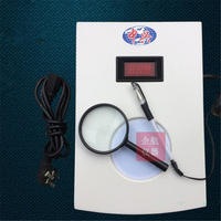 YLN 30 Colony counter Bacteria quantity counting machine Bacterial tester Built in magnifying glass Lab supplies