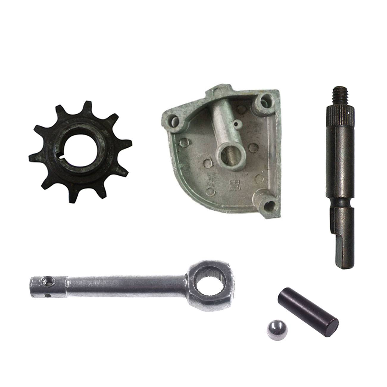 10Tooth Drive Sprocket 3 Holes Clutch Cover Fit 49cc 60cc 66cc 80cc Motorized Bicycle
