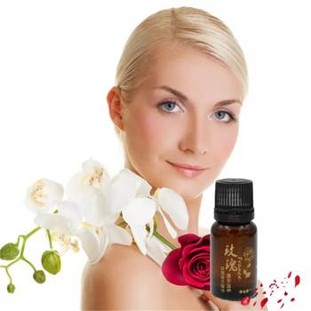 Czyste olejki eteryczne organiczny olejek różany 10 ml butelka naturalny kwiat kokosowy pielęgnacja skóry pielęgnacja włosów olej do ciała masaż różany olej tanie i dobre opinie Aichun Beauty Związek olejku CN (pochodzenie) Rose essence JY-02 CHINA GZBJZ 2019246244