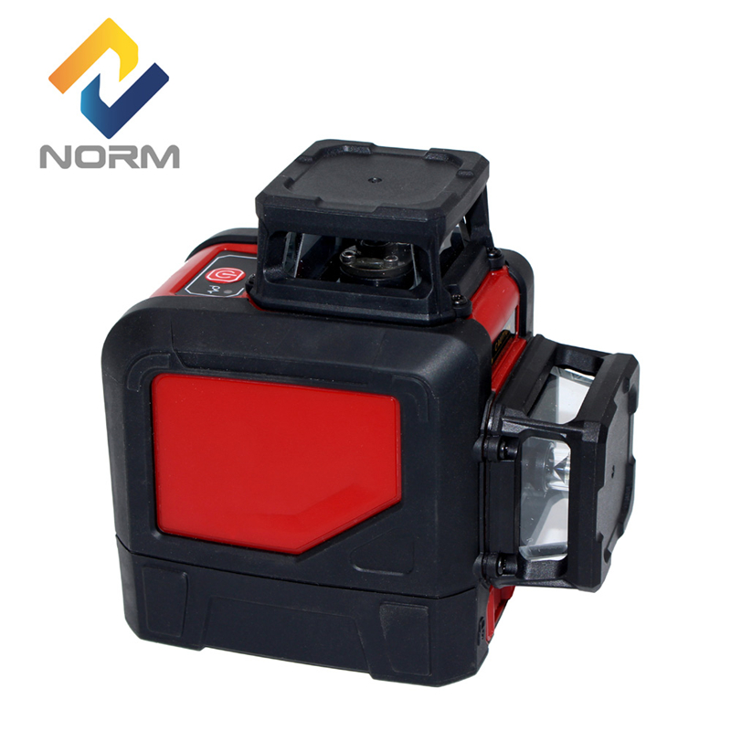 Norm laser level 8 line construction tools green laser level 360 red Mini Style Self-Leveling Laser Level adjustable mounting high quality southern laser cast line instrument marking device 4lines ml313 the laser level