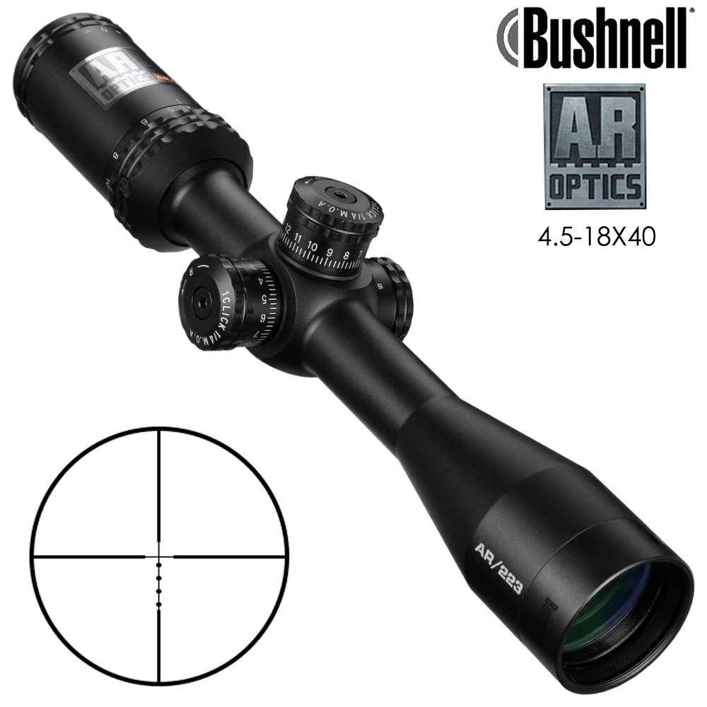 4.5-18x40 Ar Optics Drop Zone-223 Reticle Tactical Riflescope With Target Turrets Hunting Scopes For Sniper Rifle