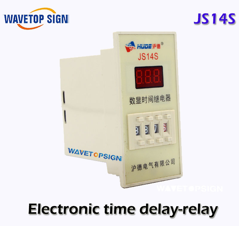 JS14S Electronic time delay-relay Digital Display free shipping 1pcs lot js14s digital time relay
