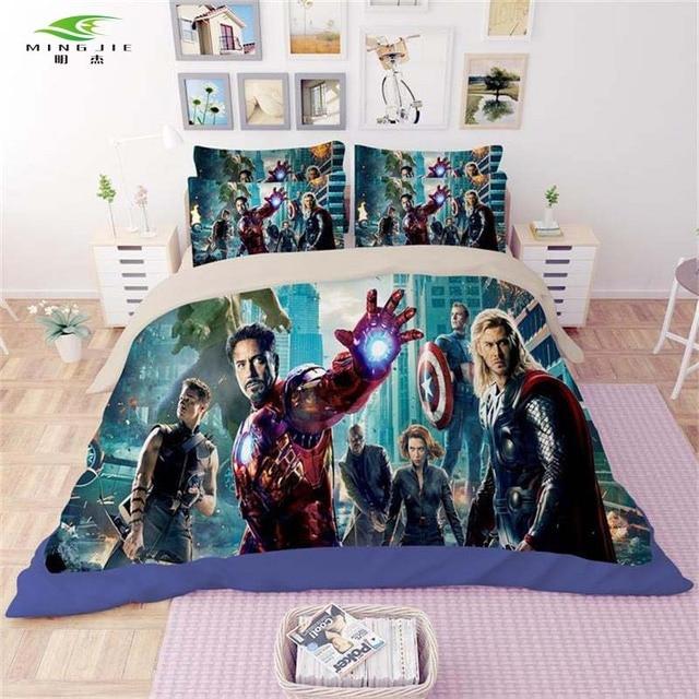 Mingjie 3d Avengers Batman Wolverine Fer Homme Loup Enfants Ensemble