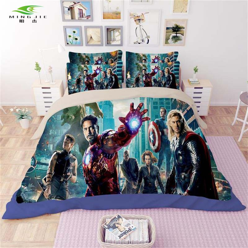 Iron Man Bedding Full Size