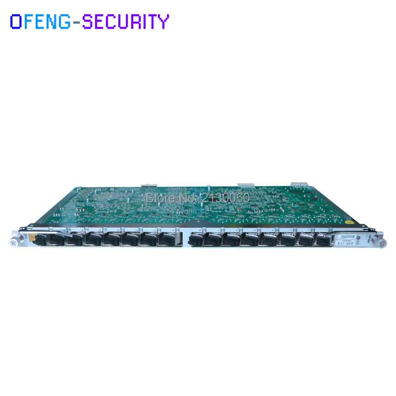 Zte 16 Ports Gpon Olt Gtgh Original ZTE Card ZTE Board 16 Ports GPON OLT GTGH Card With 16pcs C++ SFP Modules For C300 C320 OLT