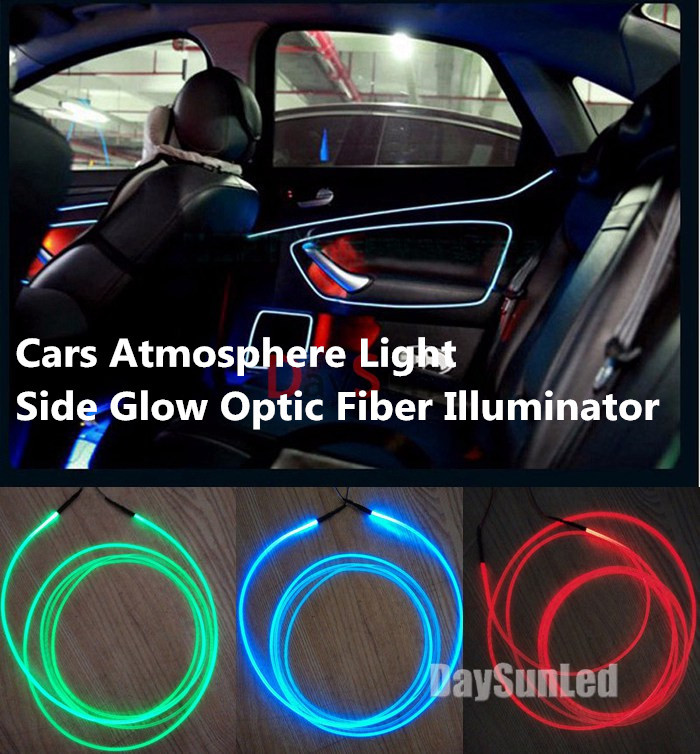 led car light illuminators 12v for all cars inside car lighting source 6 colors cars lighting. Black Bedroom Furniture Sets. Home Design Ideas