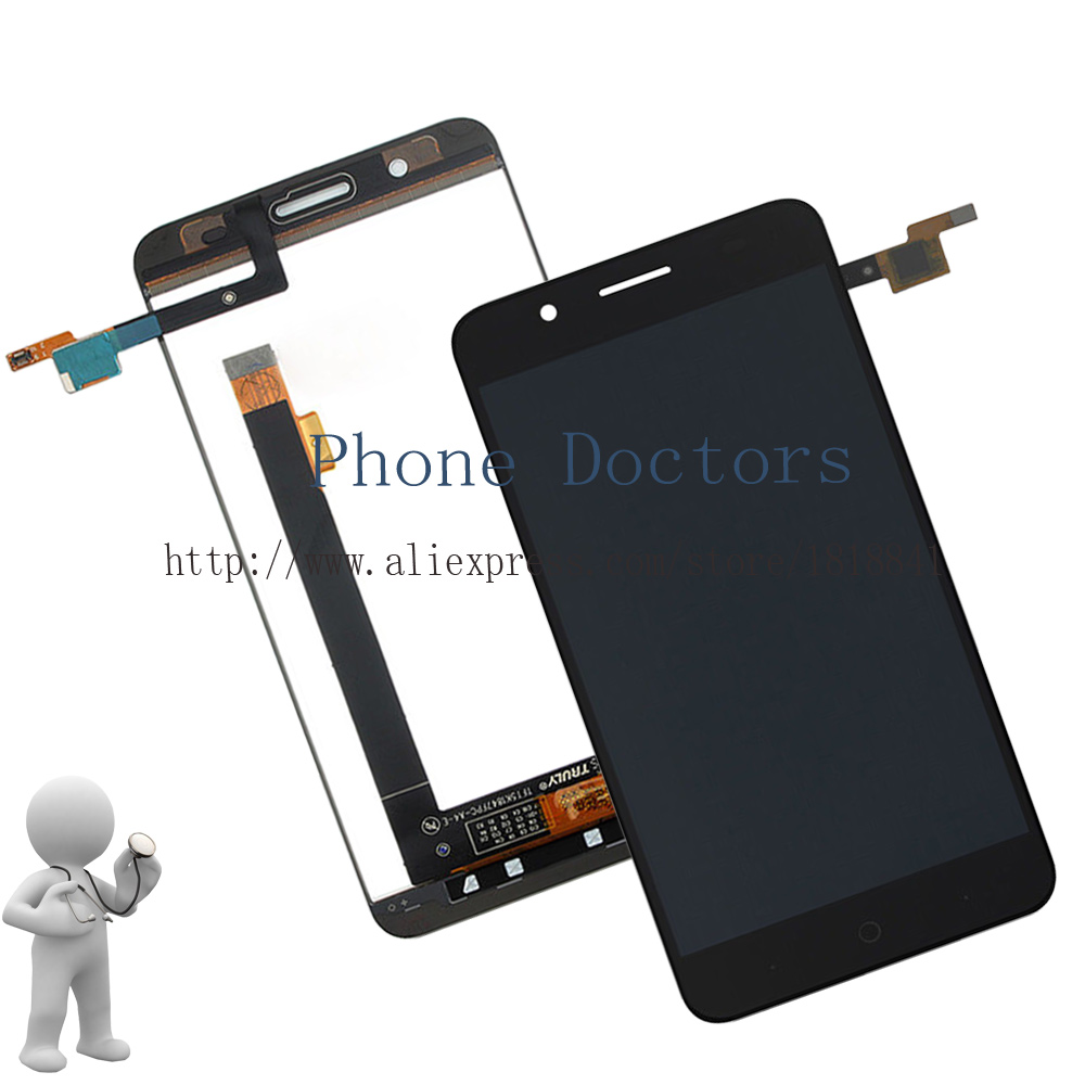 5.2 Black For ZTE Blade A610 Plus Full LCD DIsplay +Touch Screen Digitizer Assembly For ZTE Blade A610+ ; 100% Tested