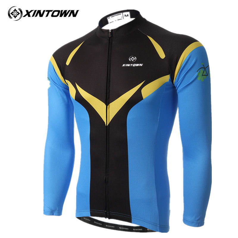 Ropa ciclismo XINTOWN Cycling Clothing Completo Ciclismo Estivo Raiders Jersey Long Sleeve Lycra Skinsuit Equipe Bike Jerseys