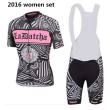 2016 tinkoff saxo bank women cycling jersey mtb ropa ciclismo mujer bike cycling clothing women set black/white/pink hot sale