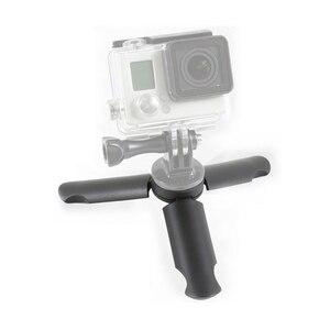 Image 3 - Mini tripé para smartphone tripé de vídeo lidar com aperto para dji gopro 7 6 5 4 dji osmo cardan de bolso zhiyun liso 4