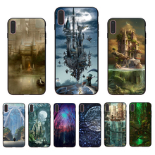 Dreamland Miracle Cartoon Soft silicone Transparent fitted phone case For iPhone 7 6 8 5 5/6S 8/7/6/6Splus X XR XS XSMAX shell