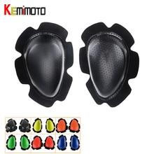 KEMiMOTO 1 пара наколенники ползунки мотоцикл защитные шестерни наколенники ползунки гоночный велоспорт спортивный велосипед наколенники оптовая продажа