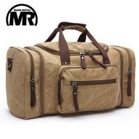 Original Z L D Canvas Men Travel Bags Carry On Luggage Bags Men Duffel Bag Travel