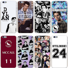 Teen Wolf Dylan Obrien Hard Transparent Cover Case for iPhone 7 7 Plus 6 6S Plus 5 5S SE 5C 4 4S