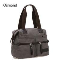 Osmond Canvas Women Bag High Quality Handbag Vintage Messenger Bags For Women Shoulder Bags Designer Famous Brand Crossbody Bag