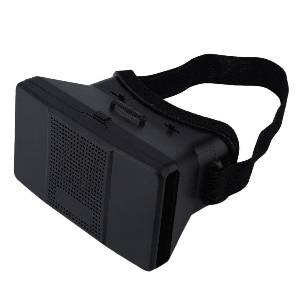 """<font><b>Universal</b></font> 3D <font><b>VR</b></font> Glasses Head Mount <font><b>Virtual</b></font> <font><b>Reality</b></font> Google Cardboard Headset <font><b>DIY</b></font> 3D Movie Game <font><b>Video</b></font> Glasses For 4-6"""" Smartphones"""