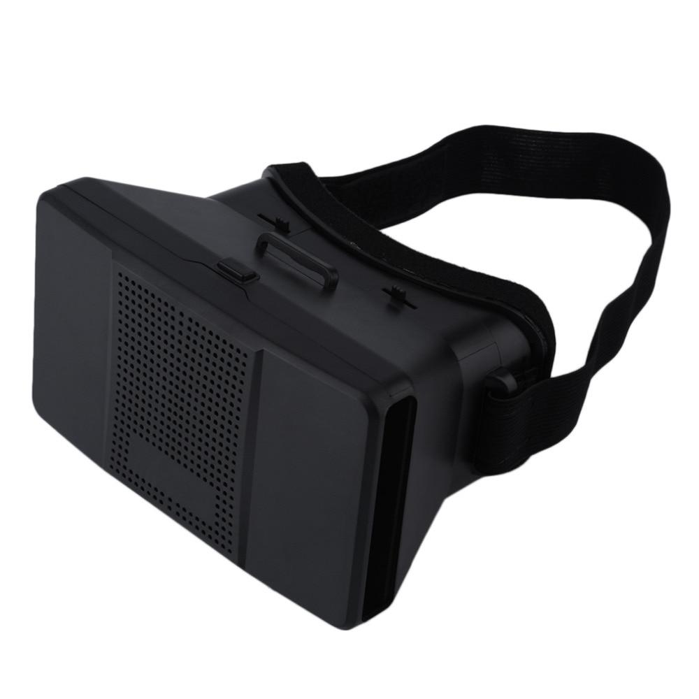 """Universal 3D <font><b>VR</b></font> <font><b>Glasses</b></font> Head Mount Virtual Reality <font><b>Google</b></font> <font><b>Cardboard</b></font> Headset <font><b>DIY</b></font> 3D Movie Game Video <font><b>Glasses</b></font> For 4-6"""" Smartphones"""