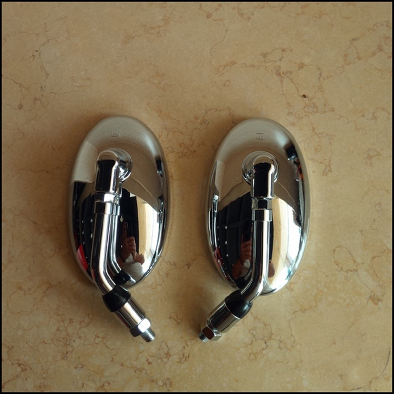 aluminium motorcycle review mirror universal retro parts reflective mirrors motorcycle accessories great vision