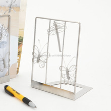 DESK/STUDY I1/I2 STAINLESS BOOKEND/BOOKSTAND
