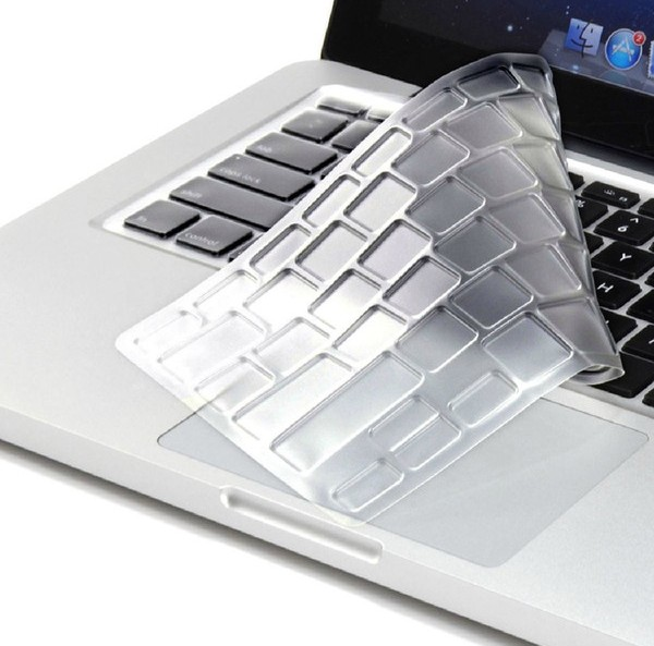 High Clear Transparent Tpu Keyboard protectors skin Covers guard For <font><b>Dell</b></font> Inspiron 15 <font><b>7560</b></font> i7560 2016 release image
