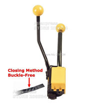 цена на A333 Manual Combination Sealless Steel Strapping Tool ,Metal Strapping Machine 3 Function(Tensioner,Sealer ,Cutter) for 13-19MM