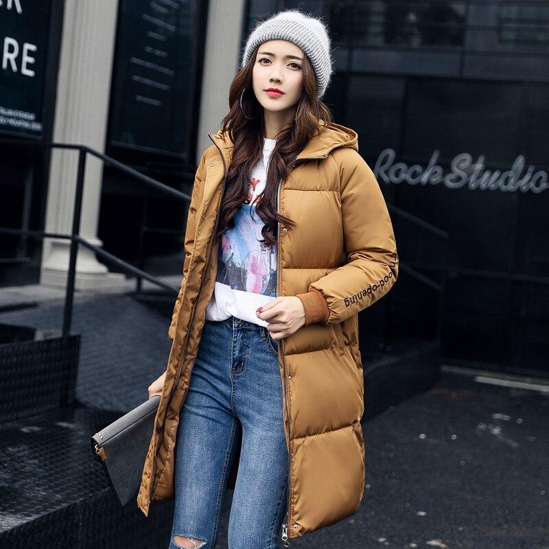 Thoshine Manteaux Parkas Vestes Marque Survêtement Thermique Longs Femelle blanc gris Dame Hiver jaune Automne Épais Chaud Vêtements Printemps Coupe Noir Femmes vent YYzAr