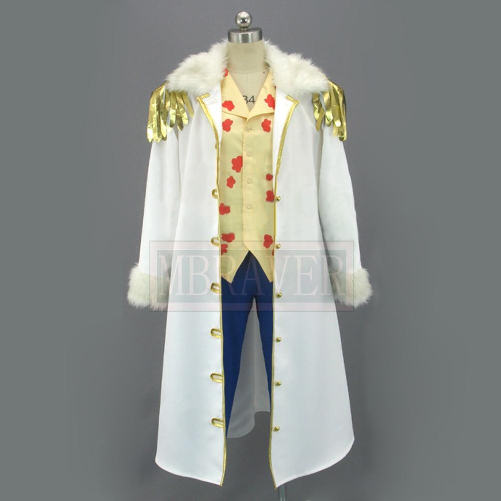 One Piece 2 Years Later Tashigi Cosplay Costume  Custom Made Any Size