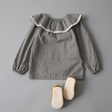 Girls Fashion Blouses Long Sleeves