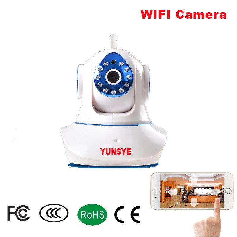 YUNSYE HD 720P Wireless Wifi Ccamera IP Network Motion Detect Camera Mini Wifi HD 720P Home Security Camera / Baby Monitor камера наблюдения zmodo wifi 720p hd ip