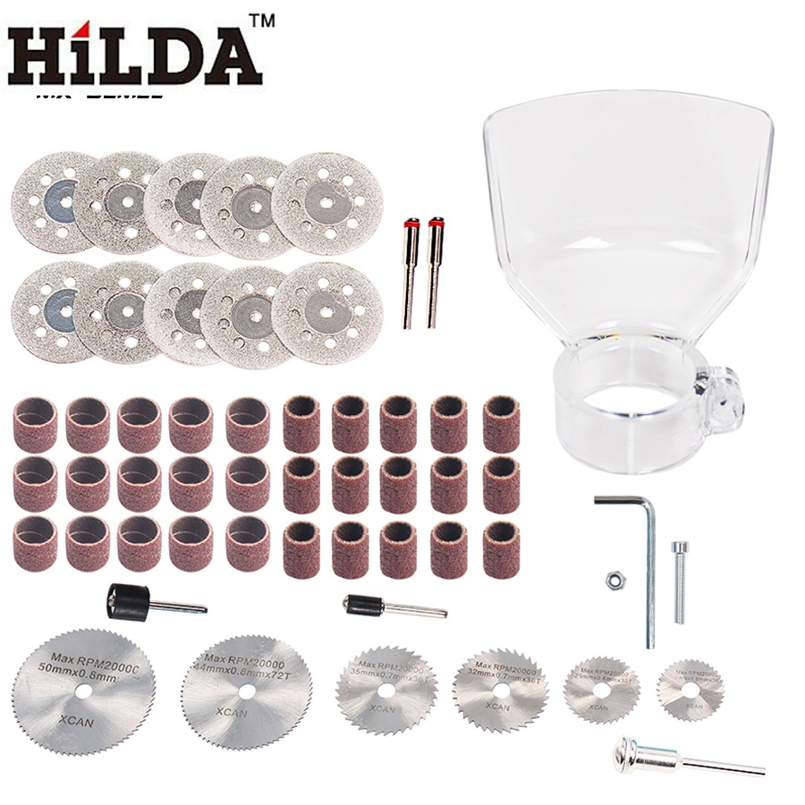 HILDA Polishing Electric Rotary Tool Accessories Set Grinding Cutting For 400W Dremel Power Tool Accessories Woodworking 276pcs hilda rotary tool bit set electric dremel rotary tool accessories for grinding polishing cutting