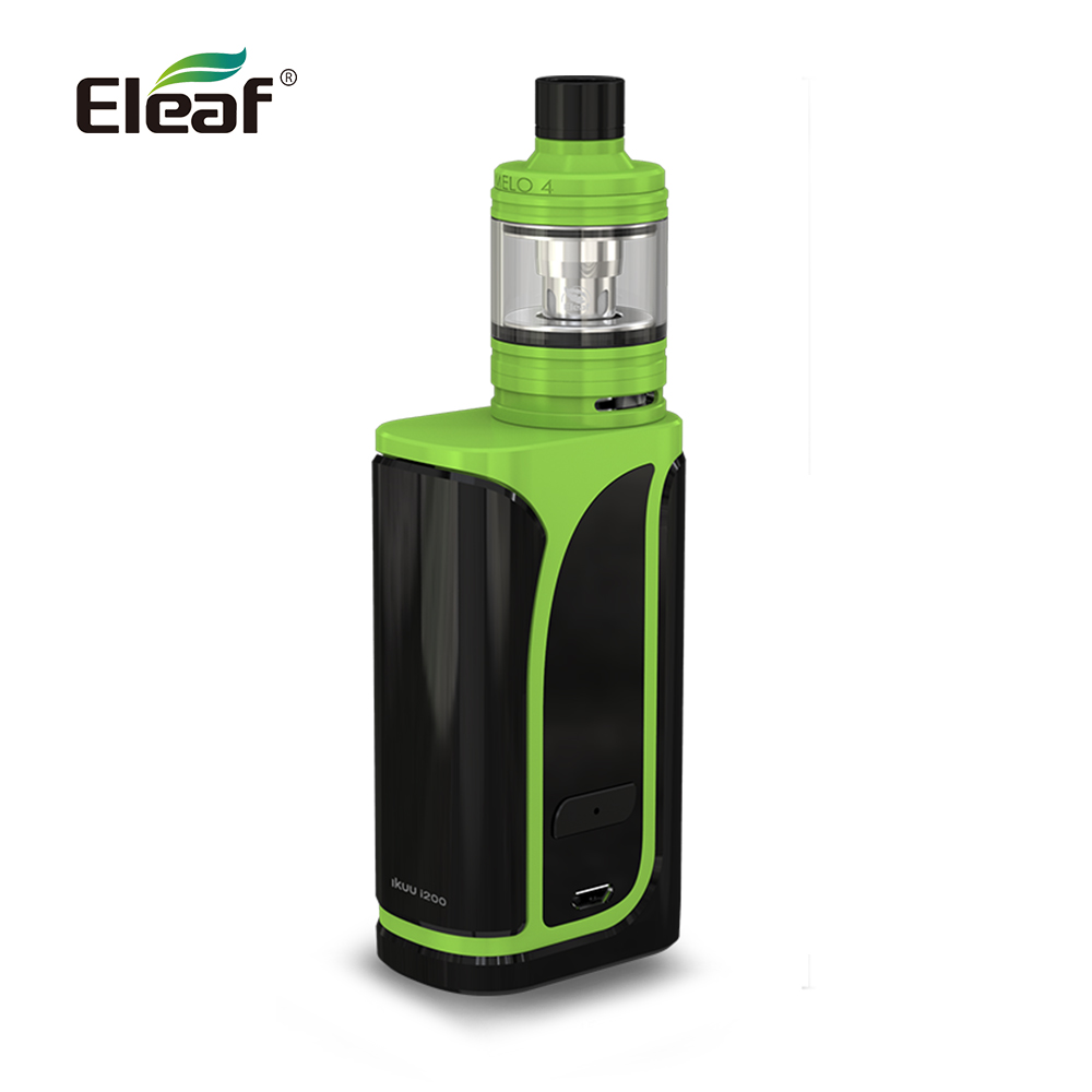Warehouse Original Eleaf iKuu i200 with MELO 4 kit 4600mAh built in battery 4 5ml Melo