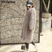 2018 Новый женский овечий мех пальто загар овечий мех пальто короткая овечья кожа куртка 90 см Монголия овечий мех