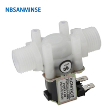 NBSANMINSE SMJFPDJ G1/2 G1/4 Water Solenoid Valve Normally closed Valve Water dispenser washing machine water heater 6 pieces solenoid valve festo mebh 4 2 qs 4 sa m2 184 1111 05 for heidelberg sm102 cd102 sm52 pm52 machine