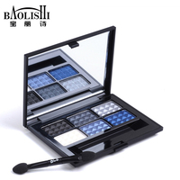 Free Shipping 6 Colors Matte Eye Shadow Naked Palette Professional Makeup Brand Cosmetics
