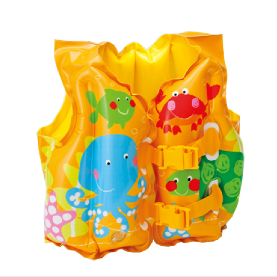Teal New Baby Kid Toddler Child Swim Vest Inflatable Swim Protect Babylife Jacket Boys Girls Years Accessories From Mor Kids New Baby Kid Toddler Child Swim Vest Inflatable Swim Float baby Baby Life Jacket