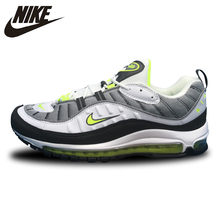 34b5b0026d Nike Air Max 98 Gundam Running Shoes,Outdoor Sneakers Shoes,Green,White,