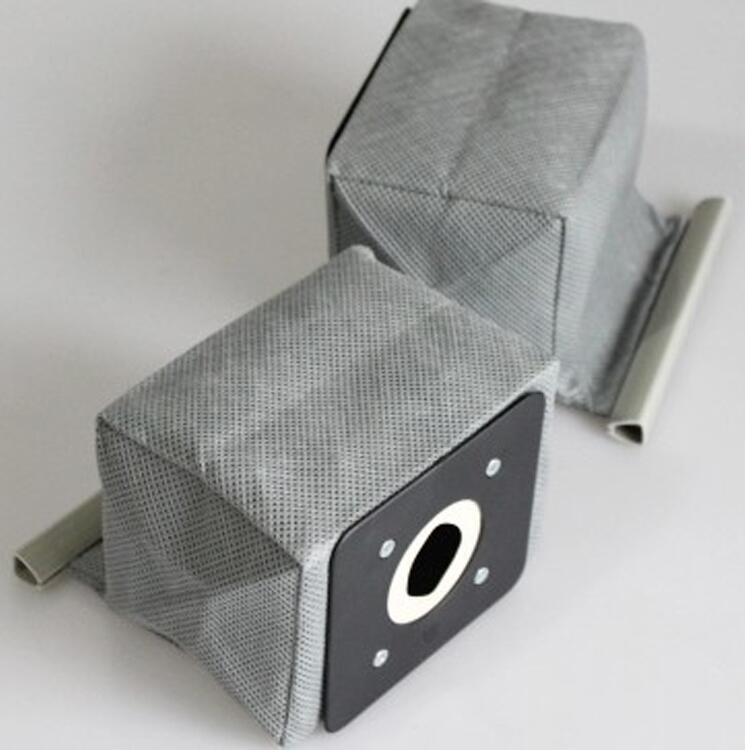 2 unids/lote Universal prácticas bolsas de aspiradora no tejido bolsas de filtro Hepa Filtro de bolsas de polvo limpiador accesorios limpiador 11x10 cm