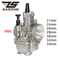 ZS Racing 21 24 26 28 30 32 34mm Motorcycle PWK Carburetor Carburador with Power Jet For Mikuni Koso For Yamaha For Honda ATV