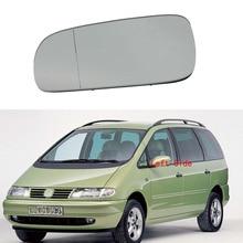 For VW Sharan 1997 1998 1999 2000 2001 2002 2003 2004 2005 2006 2007 2008 2009 2010 Left Side Rear Side Heated Mirror Glass