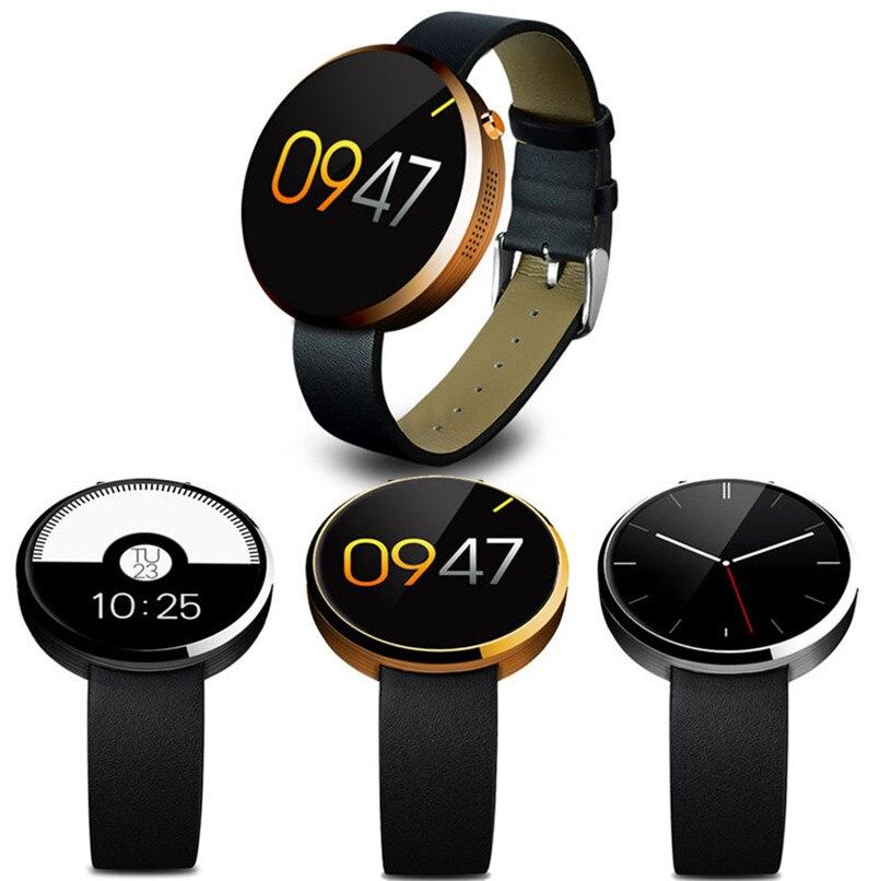 Фирменная Новинка и высокое качество dm360 сердечного ритма Мониторы трекер Bluetooth SmartWatch для IOS Бесплатная доставка nom05