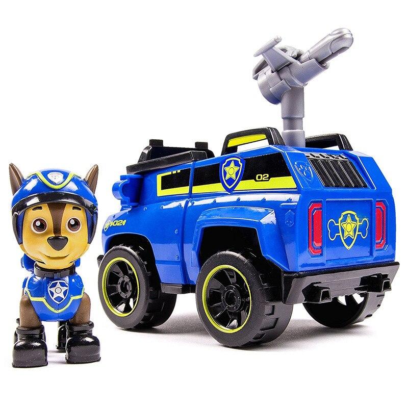 Щенячий патруль собака Chase автомобиль игрушки Фигурки автомобиля игрушка собака Patrulla Canina Juguetes игрушки подарок из натуральной кожи