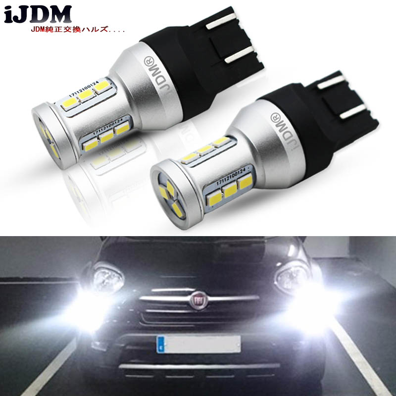 40W CREE LED 582 7440 7443 W21W Super White Sidelight Daytime Running Lights DRL