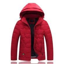 2018 High Quality winter man Down cotton Jacket Warm Brand Clothing Outerwear plus size 2XL-9XL men parkas