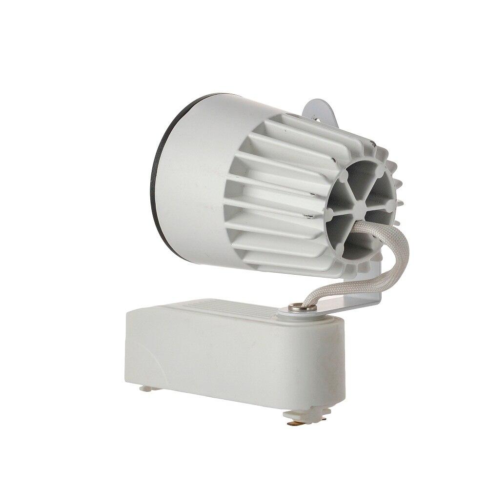 New 15W COB LED Track light AC 85V-265V integration lights energy savinig lamp for store shopping mall Rail lighting freeship