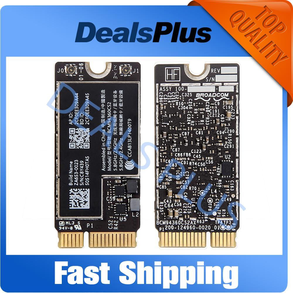 BCM94360CS2 Bluetooth Wireless Wifi Card For Macbook Air 13
