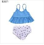 TELOTUNY/3 предмета, Быстросохнущий купальный костюм для маленьких девочек Купальник с длинным рукавом, купальный костюм для купания Z0102