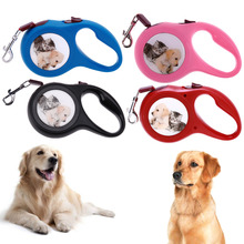 3/5m Automatic Retractable Dog Leashes Automatic Extending Nylon  Lead