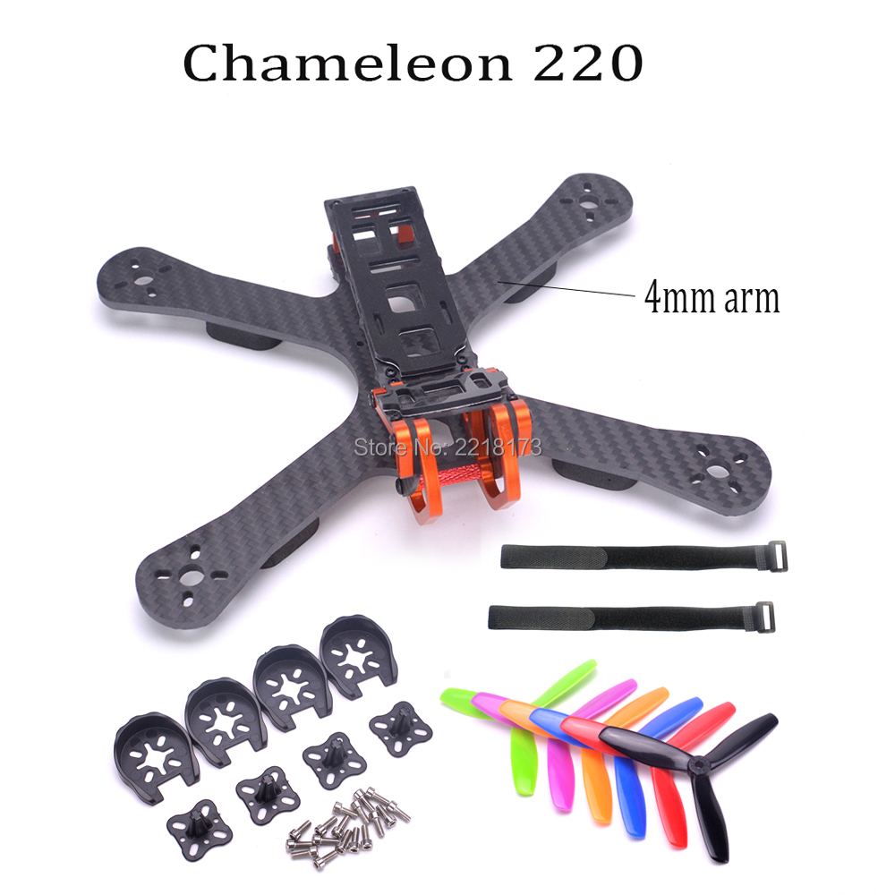 Chameleon FPV Frame 5 220mm FPV Freestyle Quad Unibody Frame FPV Racing Drone For Chameleon QAV