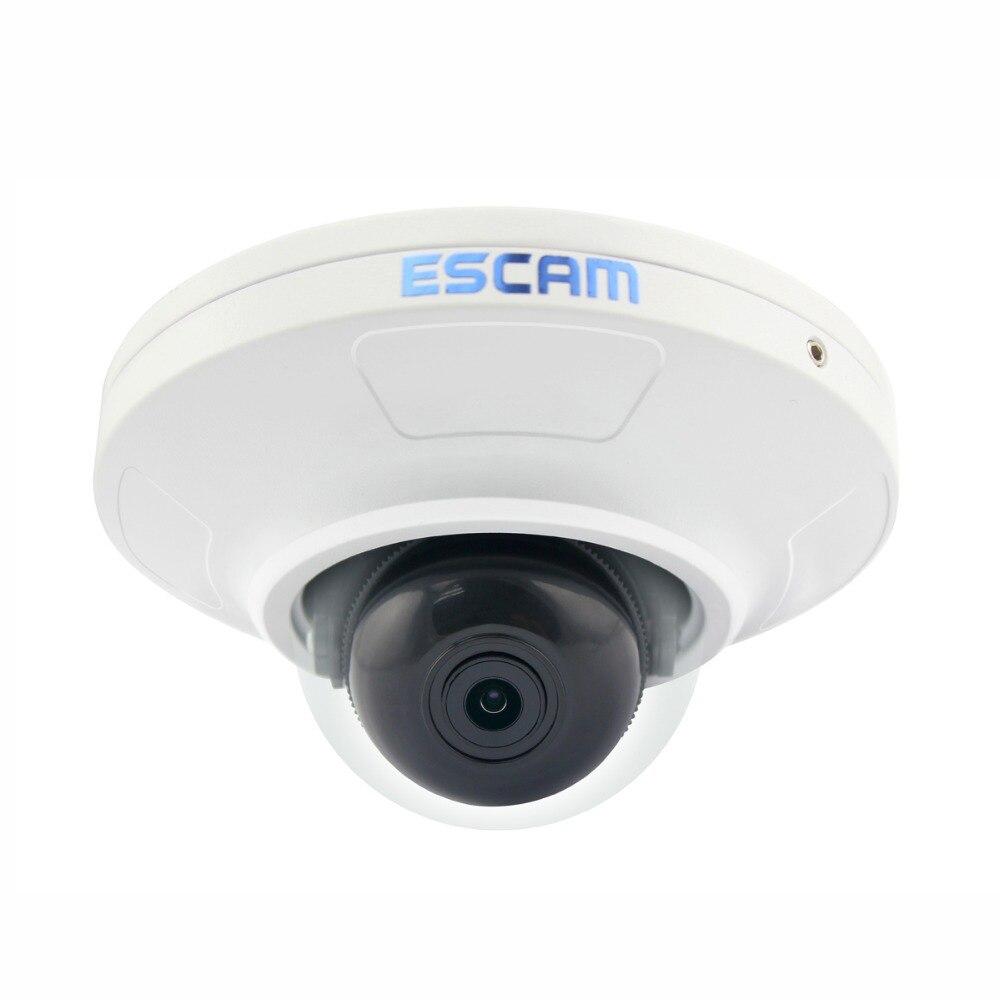 ESCAM HD3200 2.0 Megapixel HD 1080P Network IR IP Mini Dome Camera H.264 ONVIF POE Surveillance Security IP Camera escam hd 1080p network ir ip dome camera