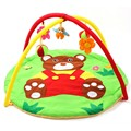 Fun Bear Baby Toy Baby Kids Play Mats 0-1 Year Indoor Baby Sports Soft Crawling Pad Musical Activity Gym Play Blanket